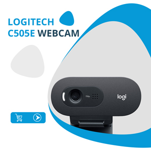 Logitech C505e Webcam